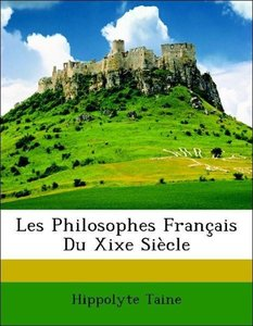 Les Philosophes Français Du Xixe Siècle