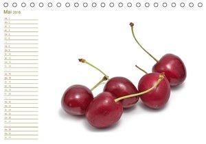 Leckere Früchte / Geburtstagskalender (Tischkalender 2016 DIN A5