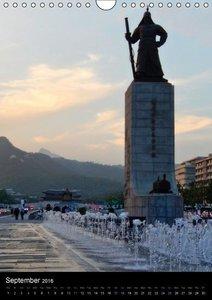 South Korea Land of the Morning Calm (Wall Calendar 2016 DIN A4