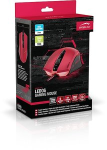 LEDOS Gaming Mouse, rot