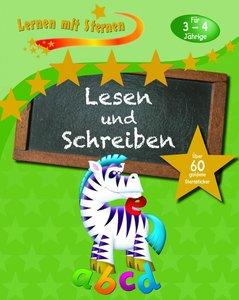 Lernen mit Sternen - Lesen und Schreiben für 3- bis 4-Jährige