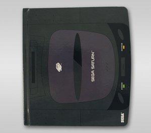 SEGA Saturn - Notizbuch, Hardcover, 96 Seiten (Offiziell lizensi