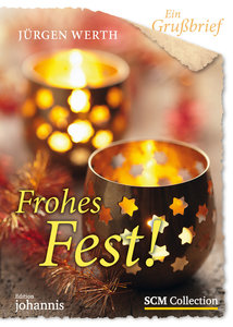 Ein Grußbrief - Frohes Fest! - 5 Stück