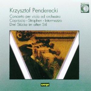 Concerto per viola ed orchestra/Capriccio/Stro