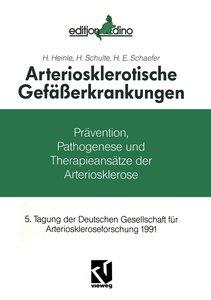 Arteriosklerotische Gefäßerkrankungen