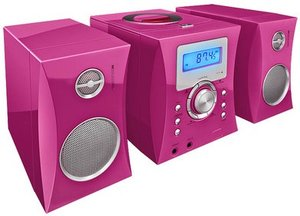 Kompaktanlage - Stereo Music Center MCD04 - Kids, pink inkl. 500
