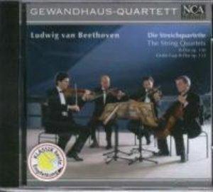Streichquartette op.130/Große Fuge op.133