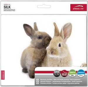 Speedlink SILK Mousepad, Rabbit