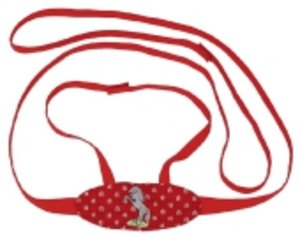 Goki 63951 - Pferdeleine Pferdegeschirr mit Bestickung