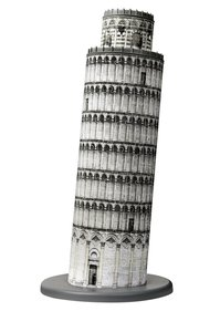 Schiefer Turm von Pisa. 3D Puzzle-Bauwerke 216 Teile