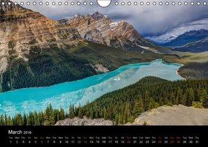 Western Canada (Wall Calendar 2016 DIN A4 Landscape)