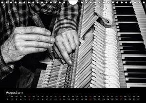 Klavierbau (Wandkalender 2017 DIN A4 quer)