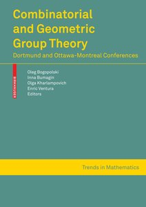 Combinatorial and Geometric Group Theory