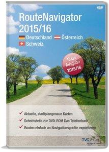 RouteNavigator DACH 2015/16