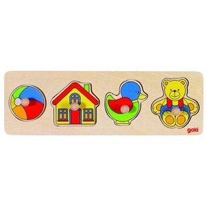 Goki 57998 - Steckpuzzle - Spielzeug