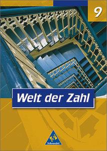 Welt der Zahl 9. Schülerband. Nordrhein-Westfalen
