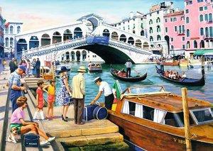 Vintage Venedig. Puzzle 1000 Teile