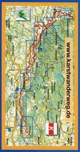 Karstwanderweg Südharz 1 : 33 000