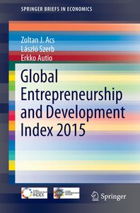 Global Entrepreneurship Index 2015