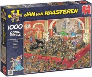 Jumbo Spiele 17214 - Jan van Haasteren: Die Oper, 1000 Teile Puz