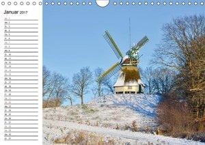 Schleswig-Holstein Stadt - Land - Meer (Wandkalender 2017 DIN A4