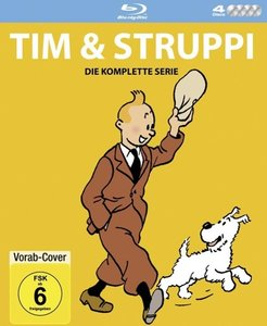 Tim & Struppi TV-Serien Box BD