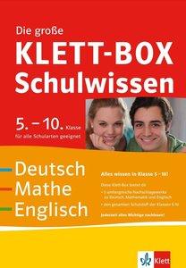 Die große Klett-Box Schulwissen 5.-10. Klasse