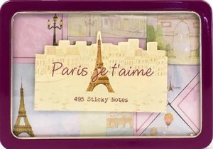 Paris: Sticky Note Tins (Life Canvas)