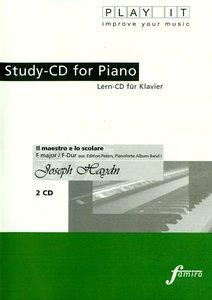 Study-CD for Piano -Il maestro e lo scolare,F-Dur
