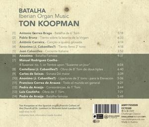 Batalha-Iberian Organ Music - zum Schließen ins Bild klicken
