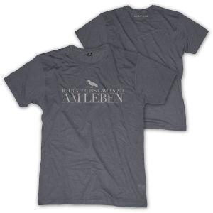 Wir Sind Am Leben,Shirt,GR XL,Grau