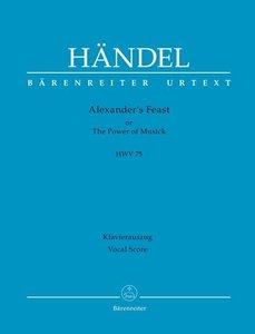 Alexanders Feast HWV 75, Revidierter Klavierauszug