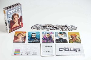 Heidelberger ID008 - Coup Cardgame ENGLISH