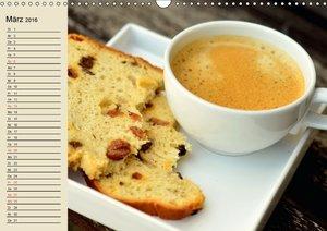 Kaffee und Kuchen. Impressionen (Wandkalender 2016 DIN A3 quer)