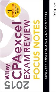Wiley CPAexcel Exam Review 2015 Focus Notes