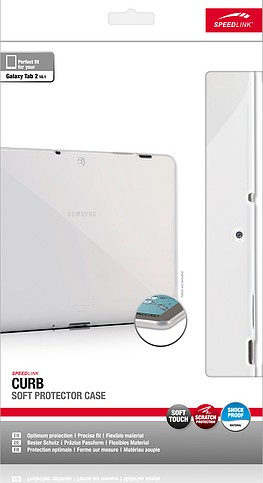 Speedlink SL-7502-FDCR CURB Soft Protector Case - Schutzhülle fü - zum Schließen ins Bild klicken