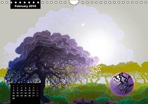 Magic Pine Forest (Wall Calendar 2016 DIN A4 Landscape)