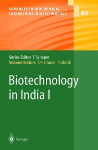 Biotechnology in India I