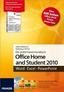 Das Franzis Handbuch für Office Home and Student 2010