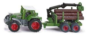 SIKU 1645 - Traktor mit Forstanhänger, 1:55