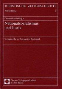 Nationalsozialismus und Justiz
