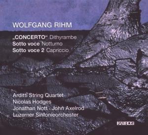 Concerto Dithyrambe/Sotto Voce