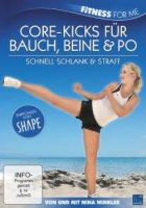 Nina Winkler - Core-Kicks für Bauch, Beine & Po - Schnell schlan