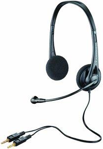 Plantronics AUDIO 322 Stereo-Headset, Kopfhörer mit Mikrofon