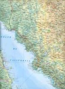 Mexico Travel Reference Map 1 : 2 000 000