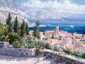 Sam Park, Über den Dächern von St. Tropez, 1.000 Teile Puzzle