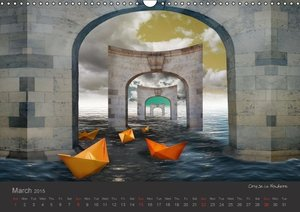 Journey in another World - Surreal Impressions (Wall Calendar 20