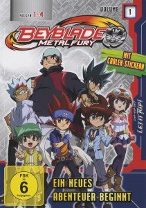Beyblade: (1)Metal Fury-Ein Neues Abenteuer Beginnt