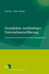 Grundsätze nachhaltiger Unternehmensführung