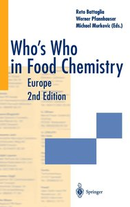Who's Who in Food Chemistry